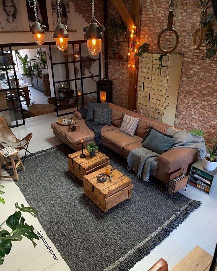 Living areas will bring a little bit of inspiration to your day. -   12 living room loft home decor ideas