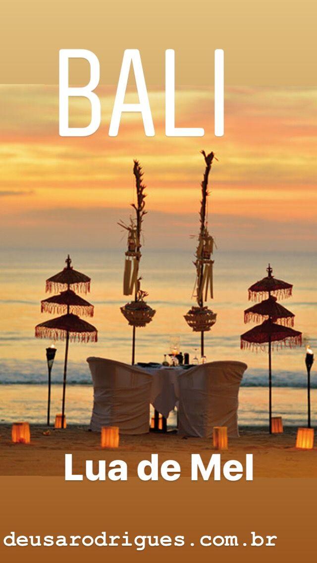 Lua de Mel em Bali com praias, templos, massagens e natureza exuberante.
