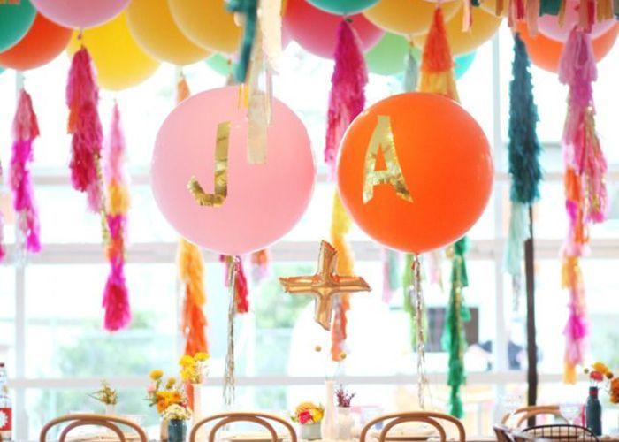 バルーンで可愛く ウェルカムスペースの飾り付けアイディア のトップ