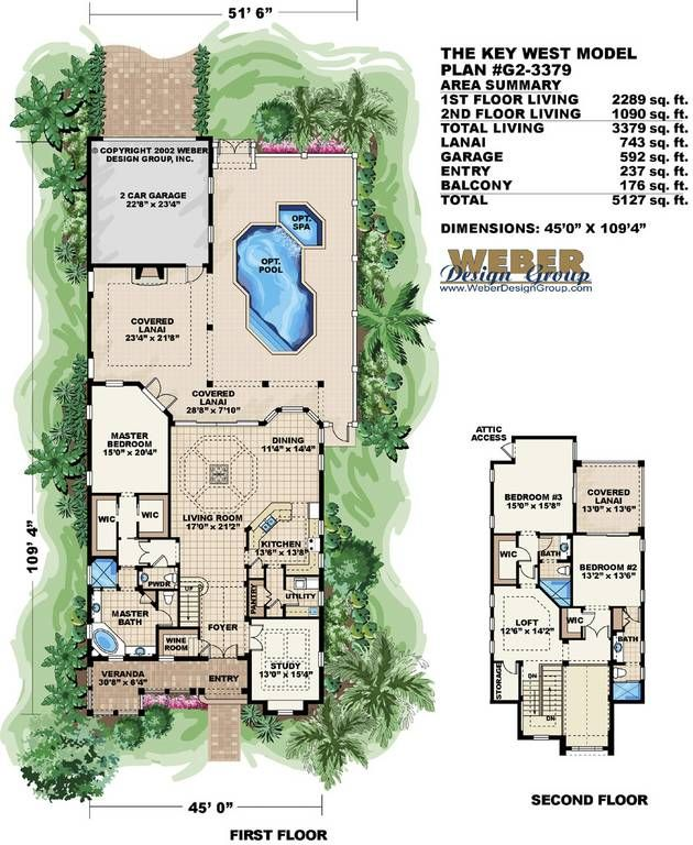 key west style home designs. Florida Floor Plan  Key West House For the Home