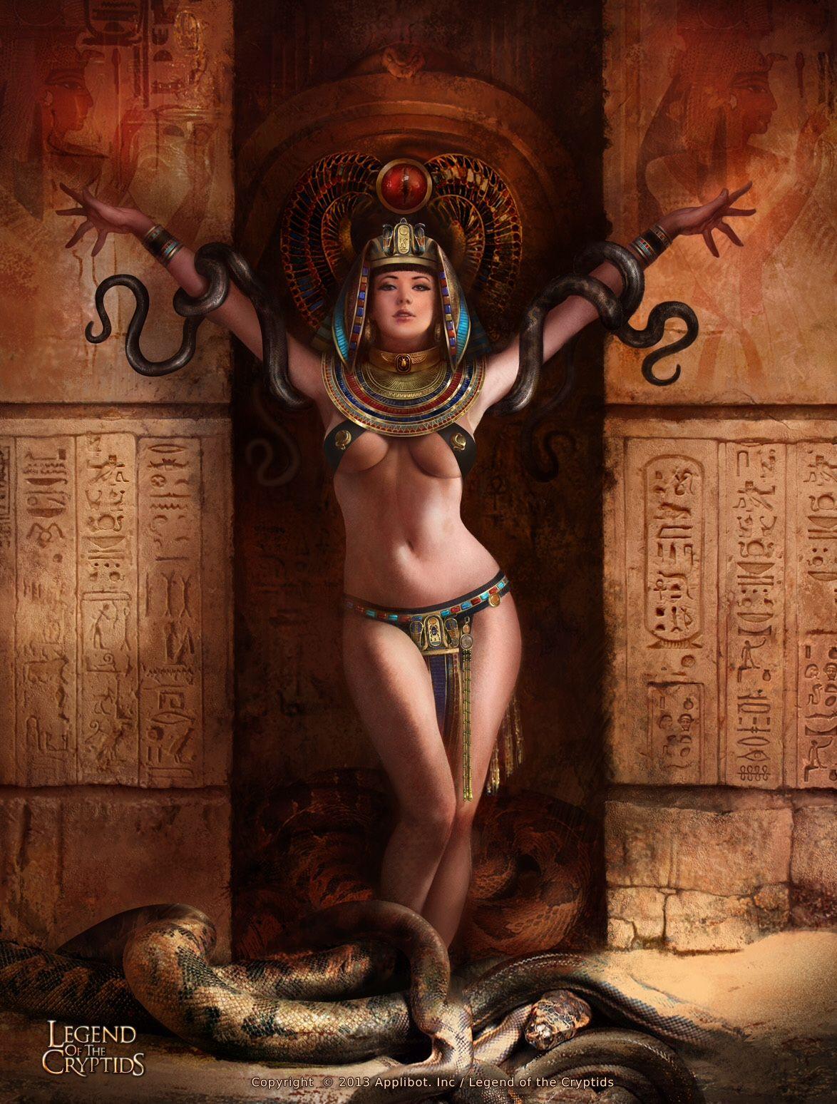 Erotic fantasy queen