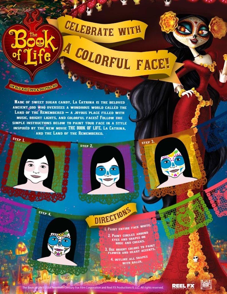 Dia De Los Muertos Free Printable Activity Sheets Costumes