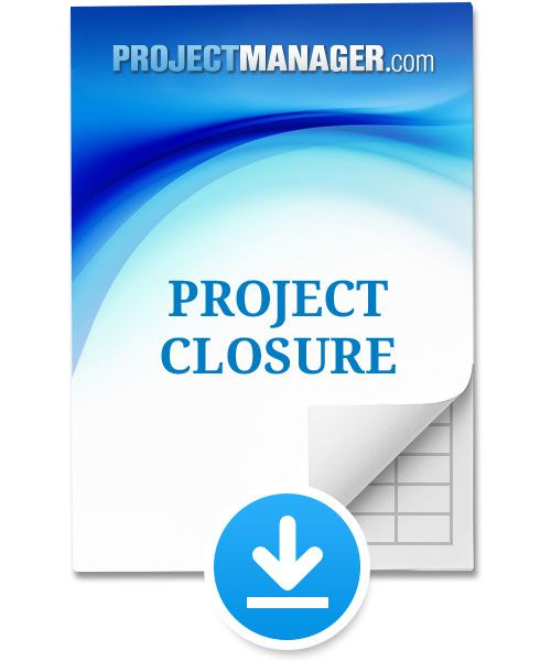 Project Closure Template Project Management Pinterest - project closure template