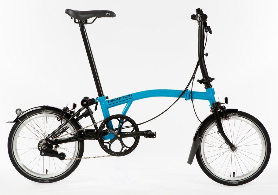 Brompton S6l Black Edition 2015 Folding Bike