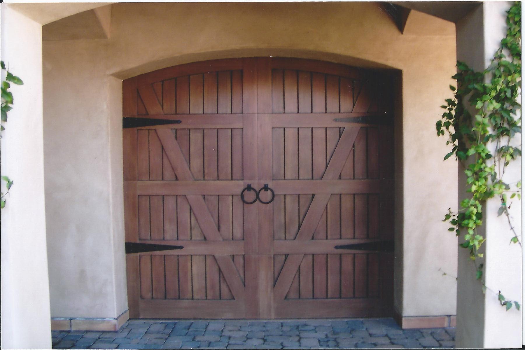 Mediterranean Garage Doors