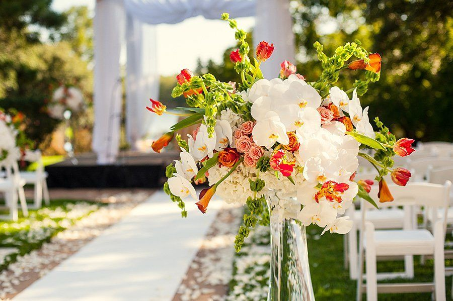 Ceremony Aisle Decor Wedding planning websites, Wedding