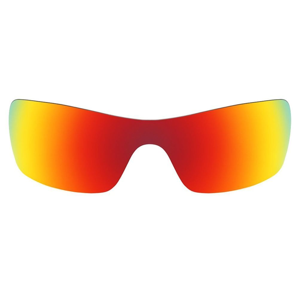 8cdd9542f5a eBay  Sponsored Revant Polarized Replacement Lens for Oakley BatwolfFire  Red MirrorShield