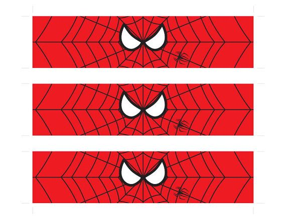 Instant Download Superhero Water Bottle Labels by ...
