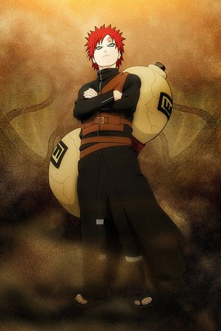 Gaara hd iphone 5 s 4 s 3g wallpapers naruto my fav - 3g wallpaper hd ...