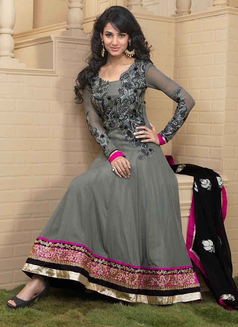 Red heavy bridal anarkali frock 7 suitanarkali in - On Eid Women Would Love To Wear Anarkali Frocks In Different Styles Have A Look At The Latest Trends Of Anarkali Frocks 2014 For Eid