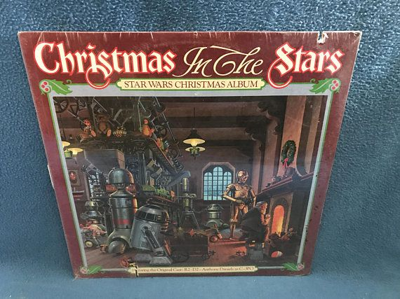 rare vintage star wars christmas in the stars vinyl lp record album - What Do You Get A Wookie For Christmas