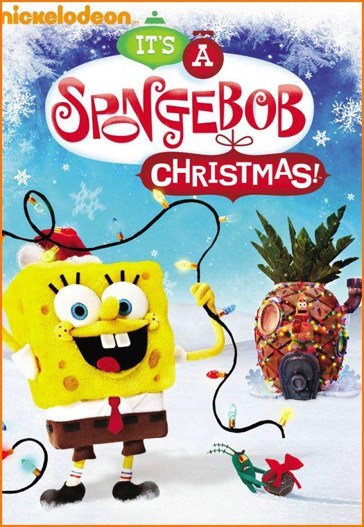 Nickelodeon S It S A Spongebob Christmas Special Spongebob Christmas Christmas Movies Christmas Dvd