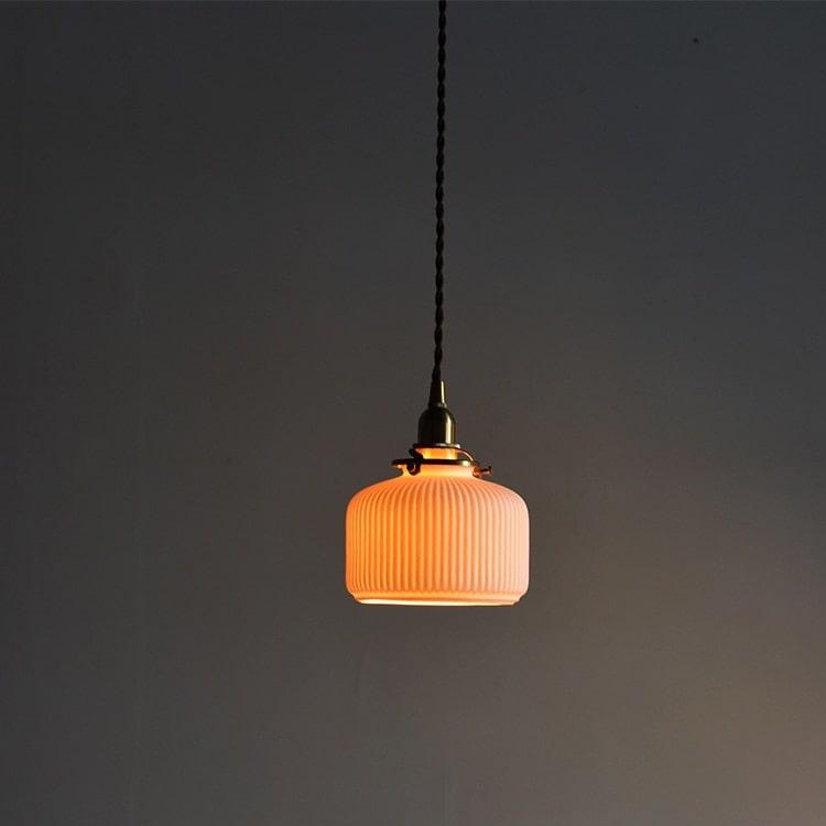 Pendant Ceramic Light Ceiling Fixture Lighting Lamp Chandelier Unique Farmhouse Ceramic Vintage In 2020 Pendant Light Bulb Lighting