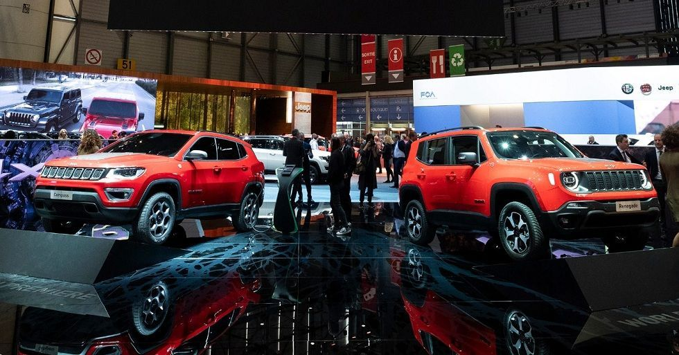 Jeep S New Plug In Hybrid Renegade And Compass Models Jeep Geneva Motor Show Fuel Economy