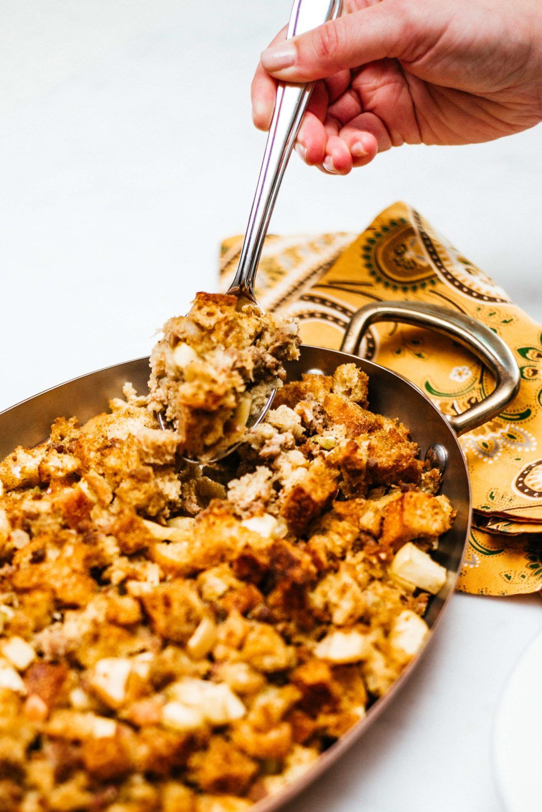 New England Style Sausage Stuffing Recipe Thanksgiving