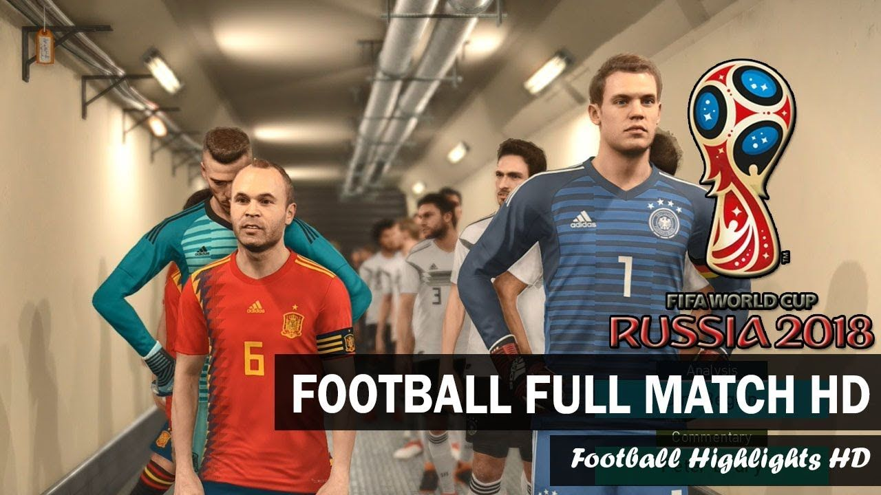 Germany Vs Spain 2018 Fifa World Cup Russia Semi Final Pes 2018 Gameplay Pc Football Hd Https Www Youtube Com Watch V Y Germany Vs Spain Fifa World Cup Fifa