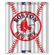 Great Boston Red Sox Shower Curtain 60 X 72 Inch