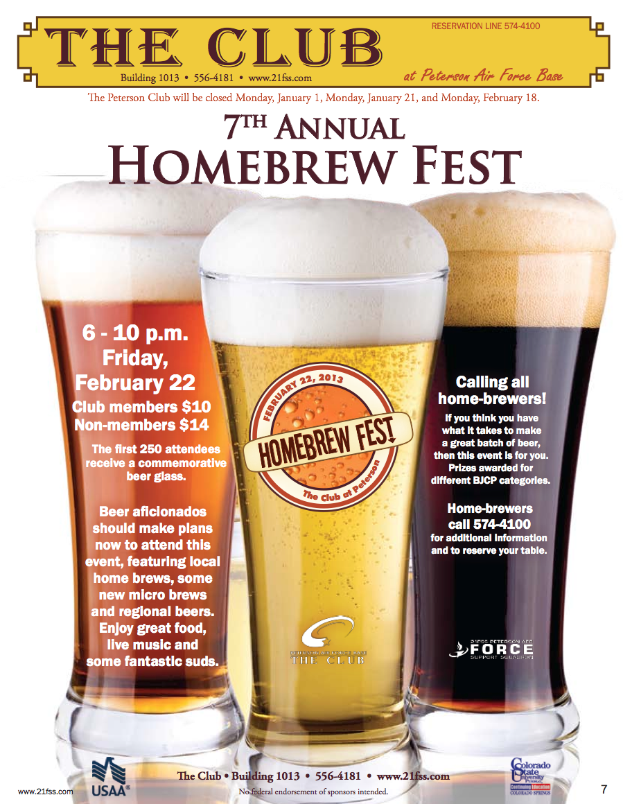 Sample a wide assortment of homebrews, enjoy lots of good