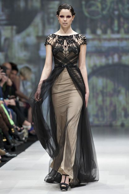 Pavoni dress. (Toronto Fashion Week) | ALL DRESSED UP AND NO WHERE ...
