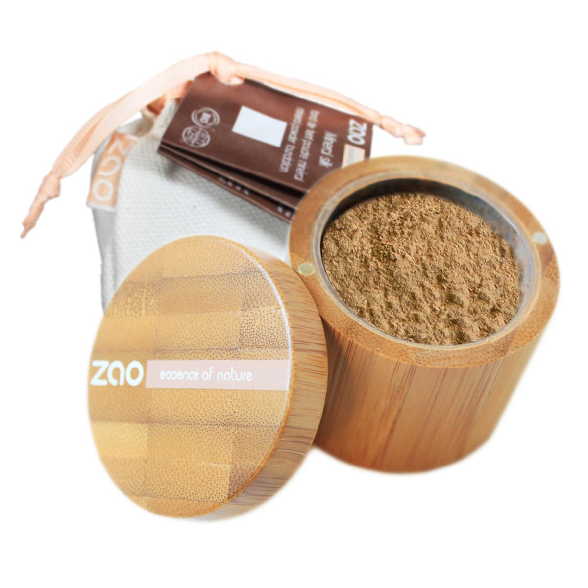ZAO Mineral Silk Foundation Powder Powder foundation