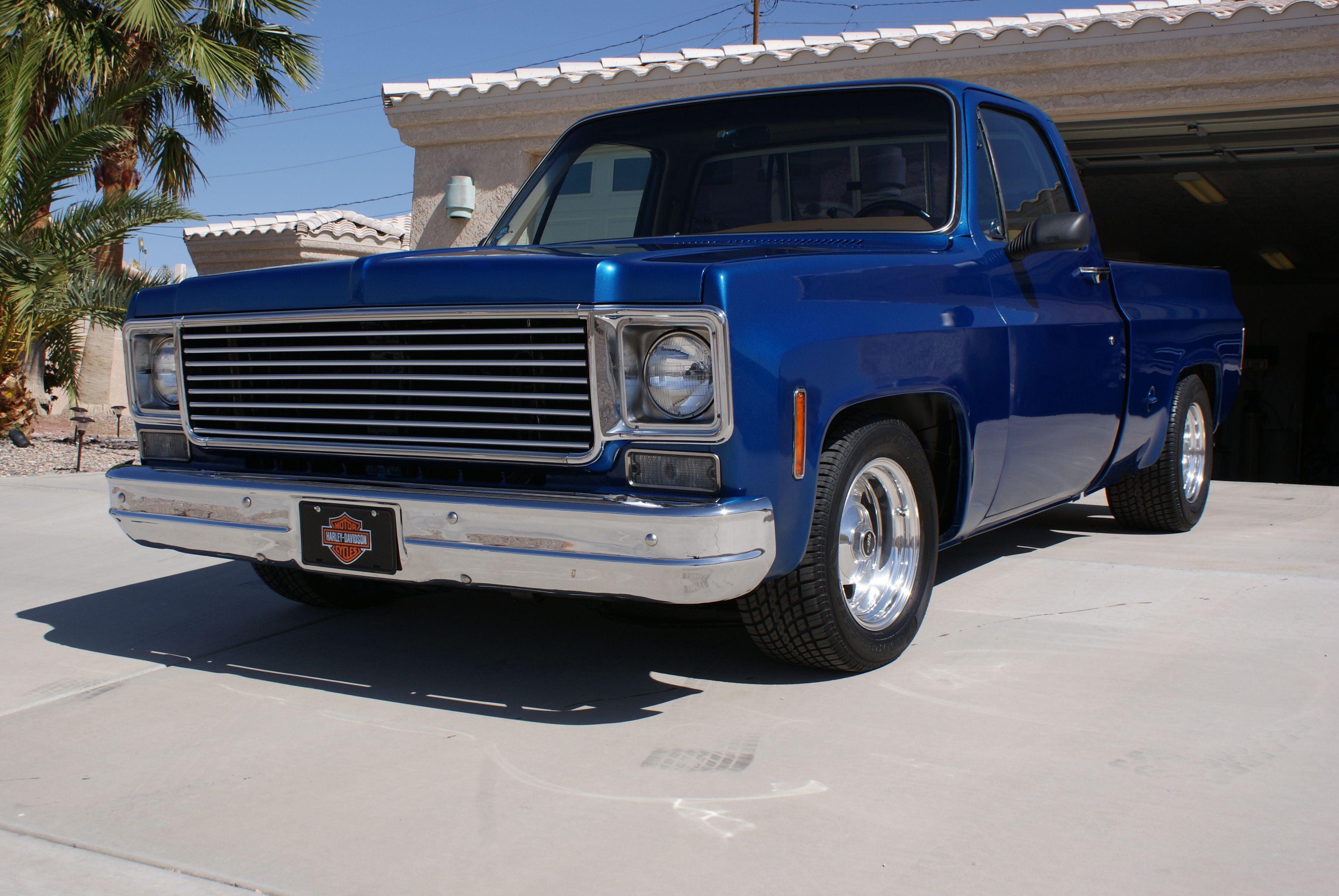 1978 chevy c10 autotrader classics 1978 chevrolet c10 truck blue 8 cylinder  [ 3872 x 2592 Pixel ]
