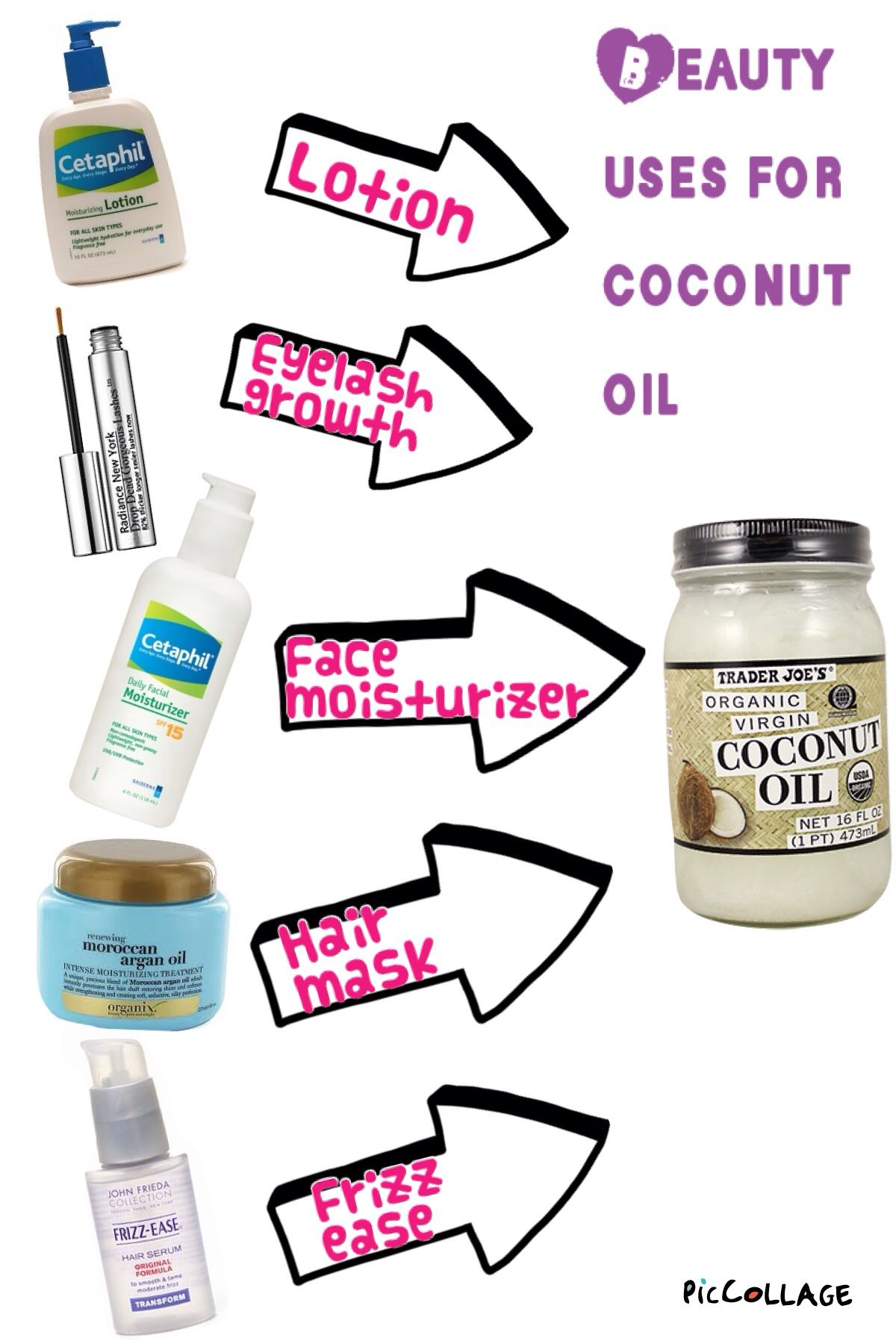 14 surprising uses for coconut oil Luxury makeup remover