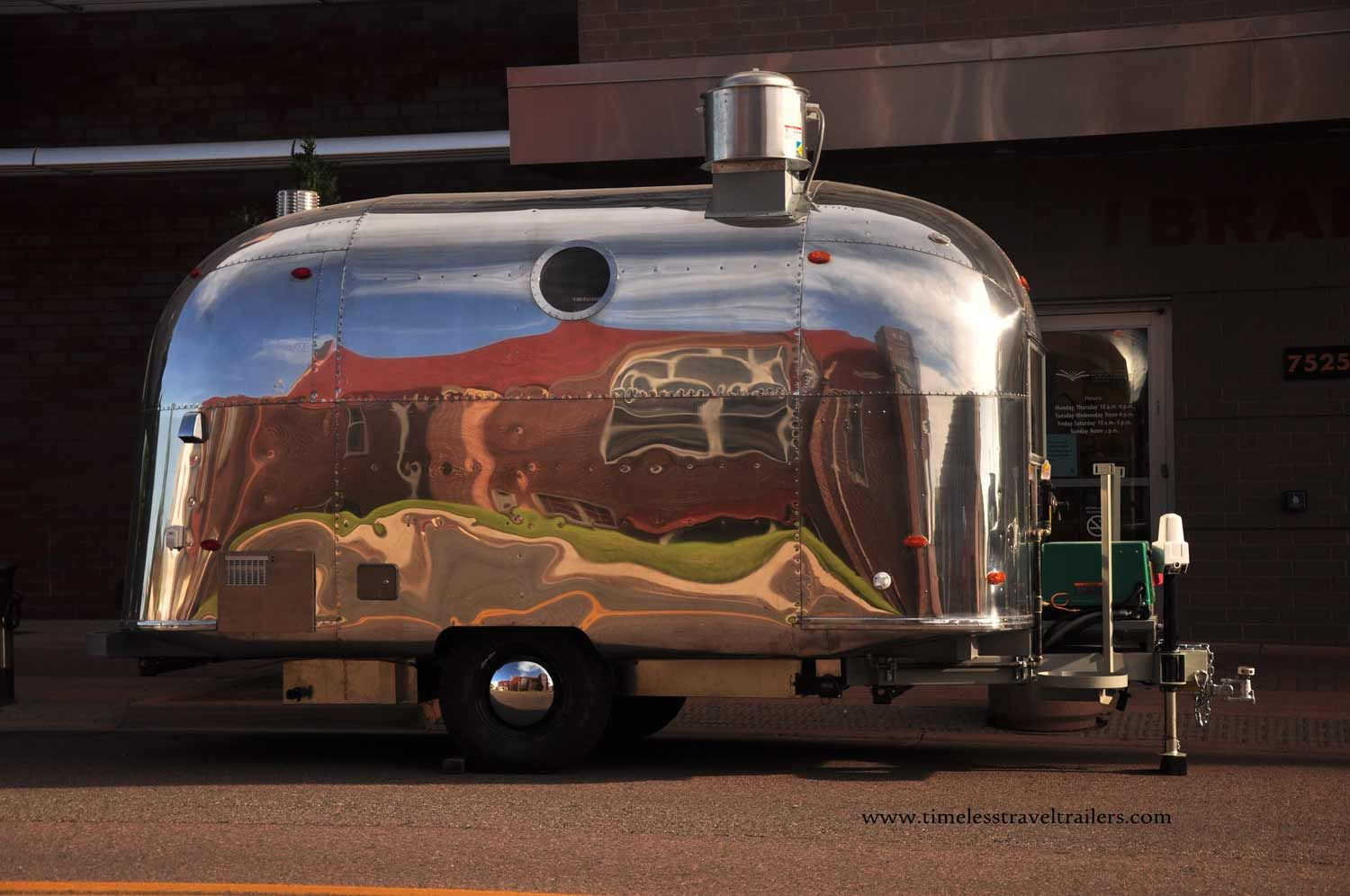 this 1964 airstream globetrotter was transformed by. Black Bedroom Furniture Sets. Home Design Ideas