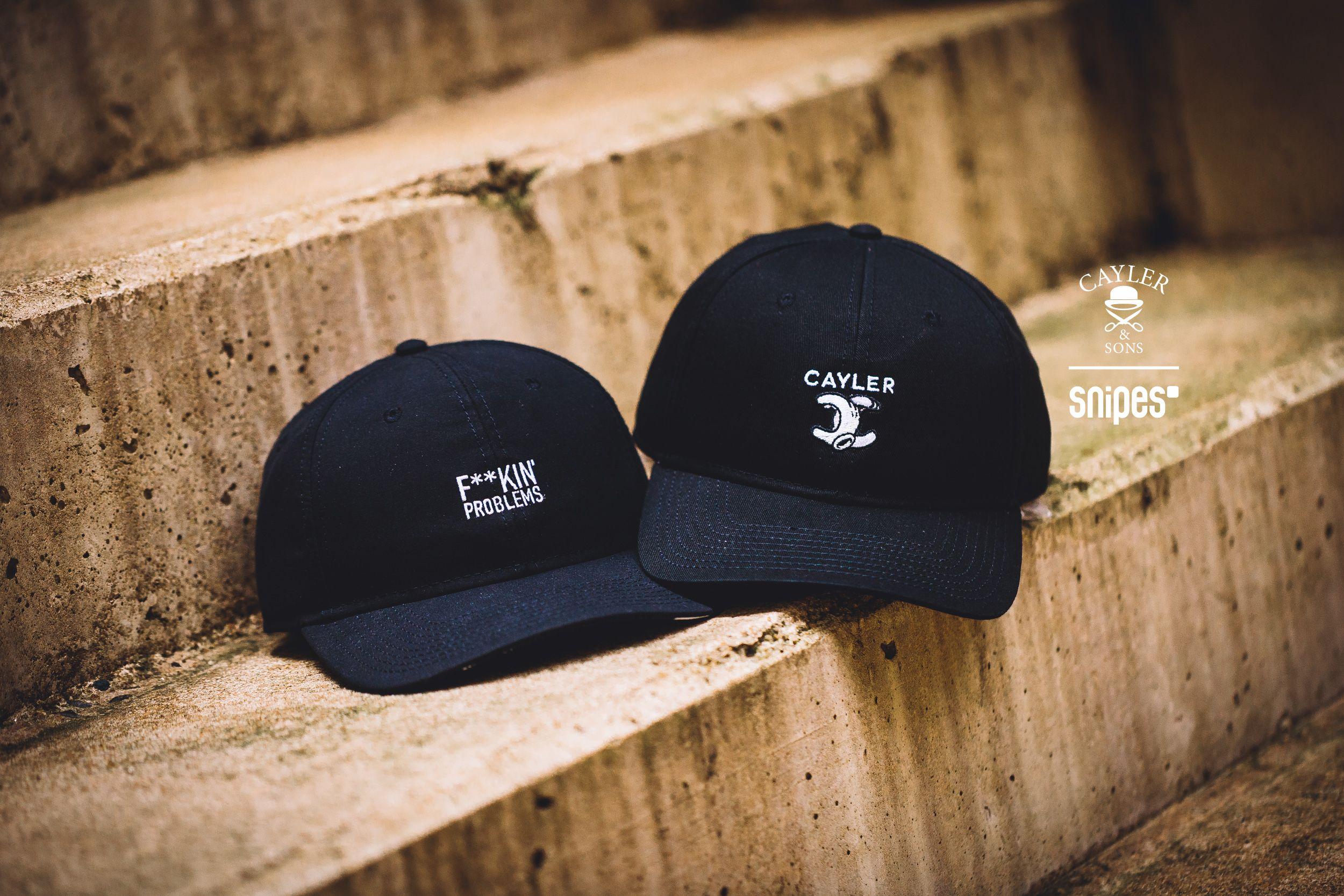 Neue Strapback-Caps von Cayler & Sons findest du bei SNIPES im Onlineshop oder in einem SNIPES Store in deiner Nähe. Artikelnr.: 7001129+7001097 Preis: 24,99 Euro#snipes #snipesknows #headwear #cayler #caylerandsons #strapback
