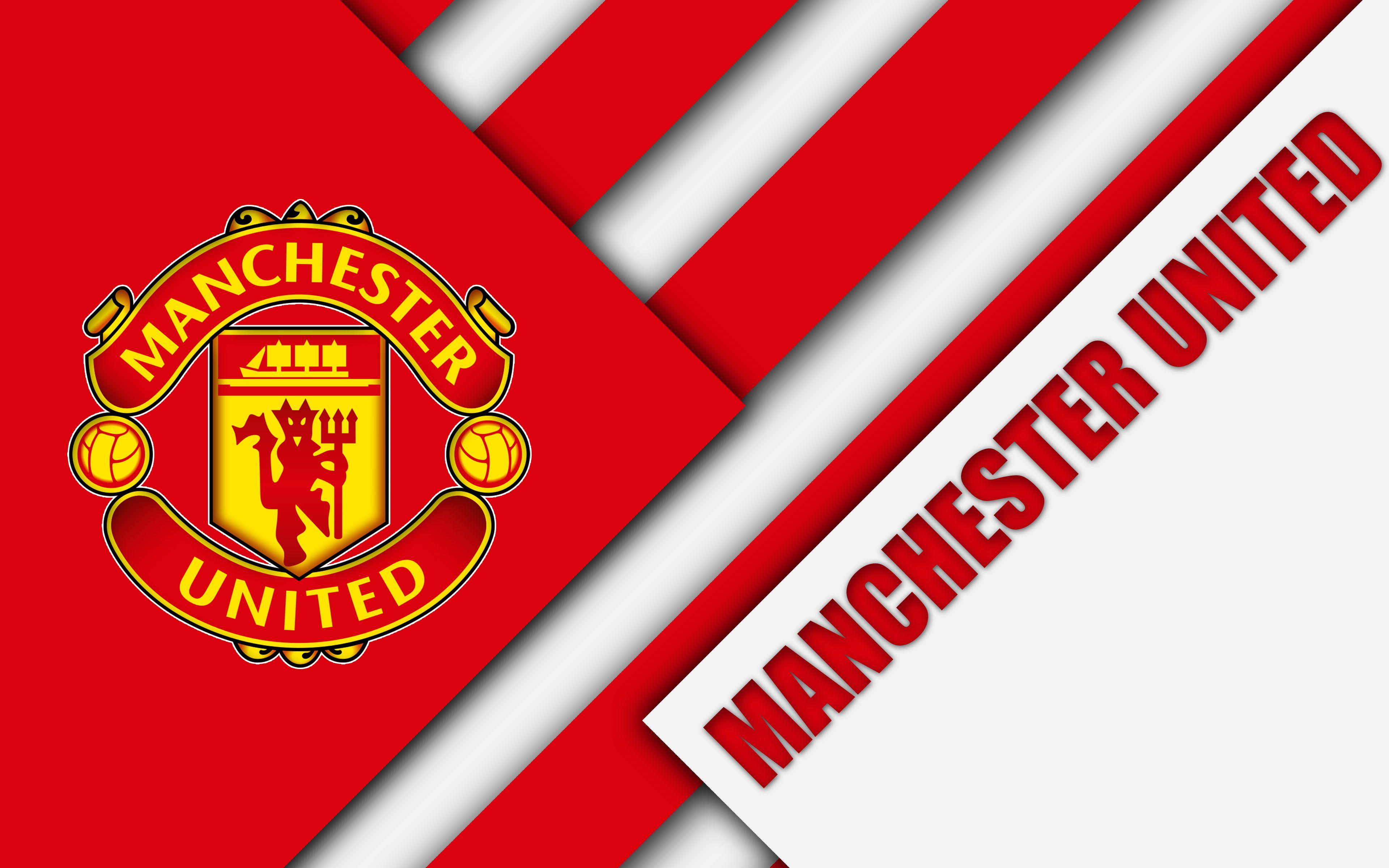 Soccer Manchester United F C Logo 4k Wallpaper Hdwallpaper Desktop In 2020 Manchester United Football Club Manchester United Wallpaper Manchester United