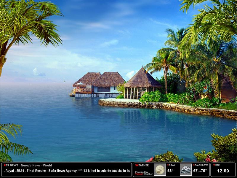 Live 3d Screensavers Tropical Dream Screensaver 1 2 Free Download For Windows 8 Windows 7 Places To Go Vacation Spots Beautiful Nature