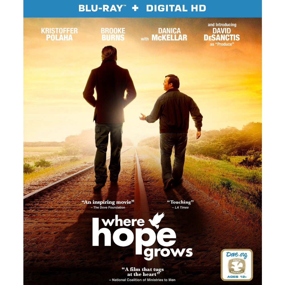 When Hope Grows Blu Ray Inspirational Movies Movies To Watch Christian Movies