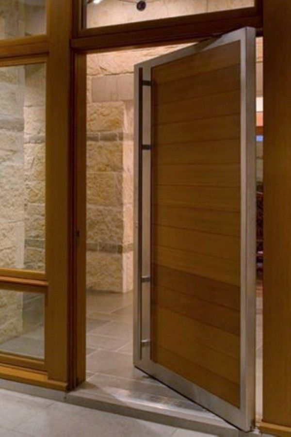 20 Best Modern Door Designs From Wood: 50 Modern Front Door Designs (Interior Design Ideas