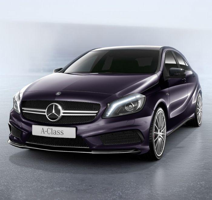 Northern Lights Violet Mercedes Benz A Class
