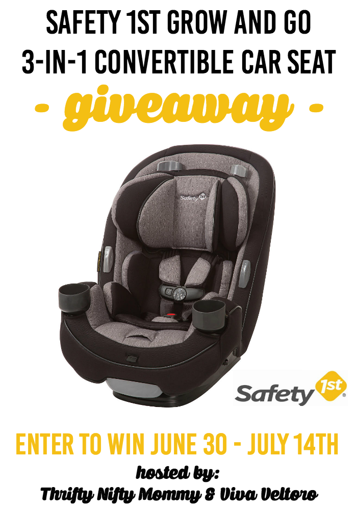 Safety 1st Grow and Go 3in1 Convertible Car Seat Car