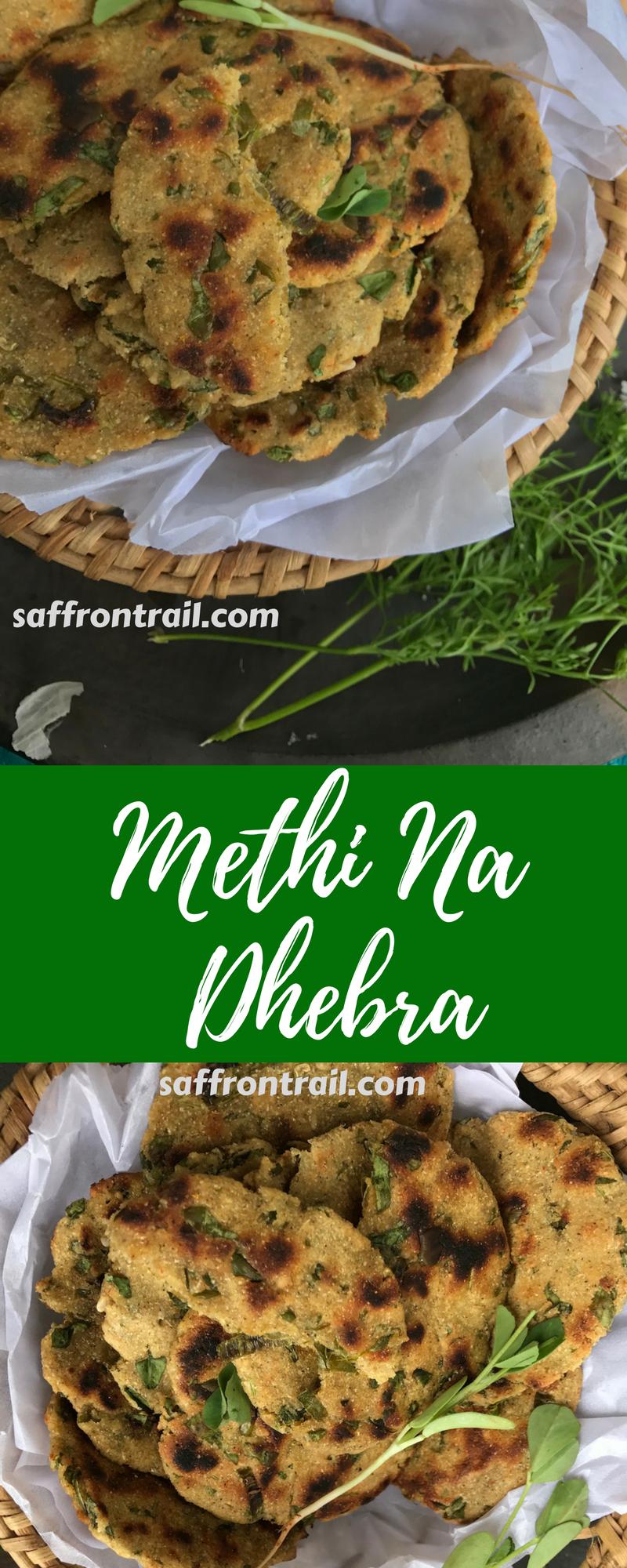 Methi Na Dhebra A Rustic Gluten Free Bread From Gujarat