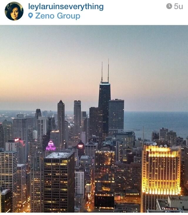 """""""@hoogbouw: Chicago skyline, pic made by @Leyla Arsan posted on @instagram pic.twitter.com/YgjXR2xth5"""""""