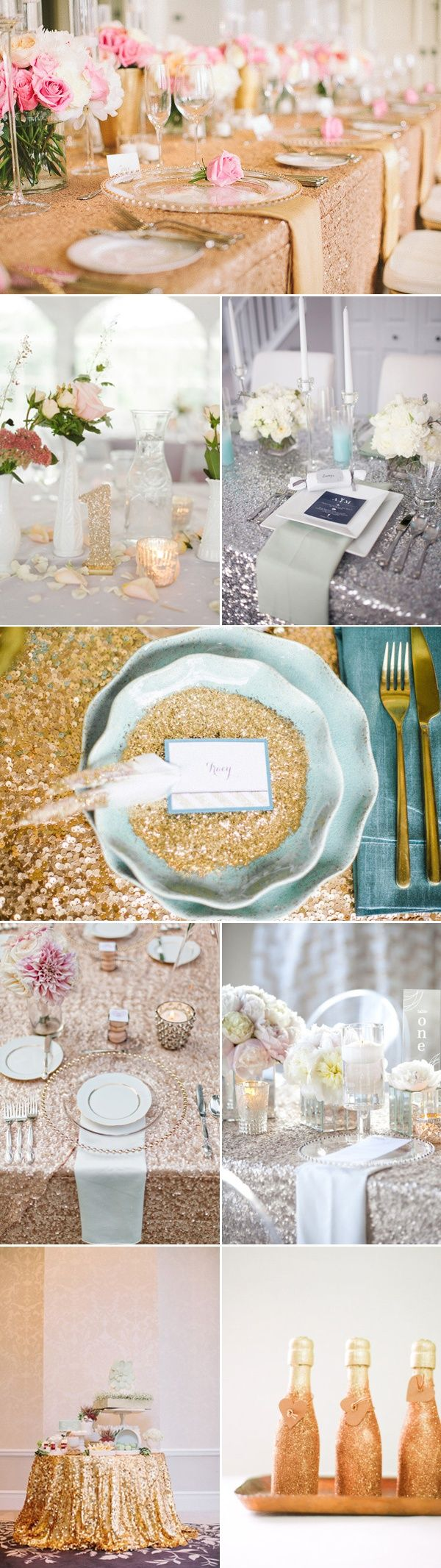 GLITTER weddings! Hyde Park Bridal\'s favorite! | Wedding Inspiration ...