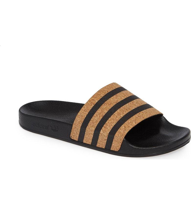 2882d1c7a296 adidas  Adilette  Slide Sandal (Women) at Nordstrom Adidas Brand