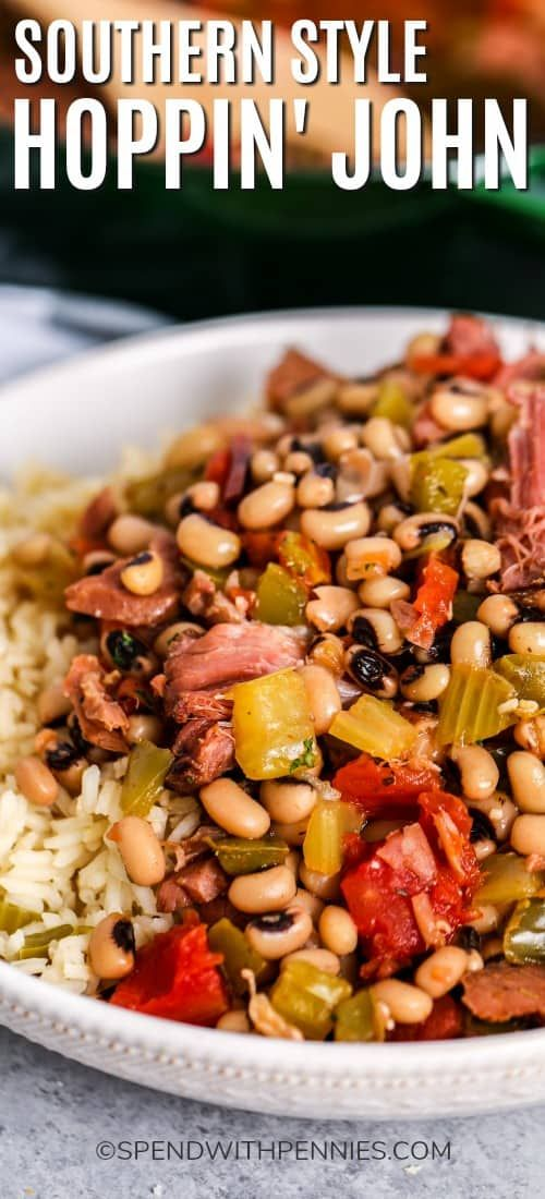 Photo of Hoppin' John {Southern-Style} – Spend With Pennies