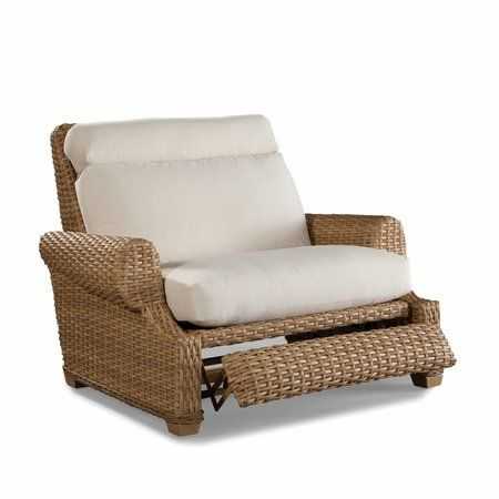 Wicker Recliner Chair Black Plastic Garden Chairs Moorings Outdoor Cuddle By Blog