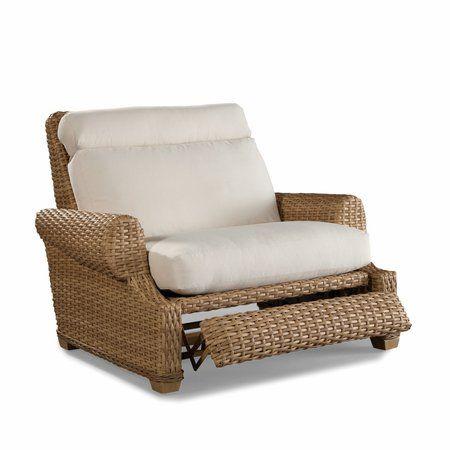 moorings outdoor wicker recliner cuddle