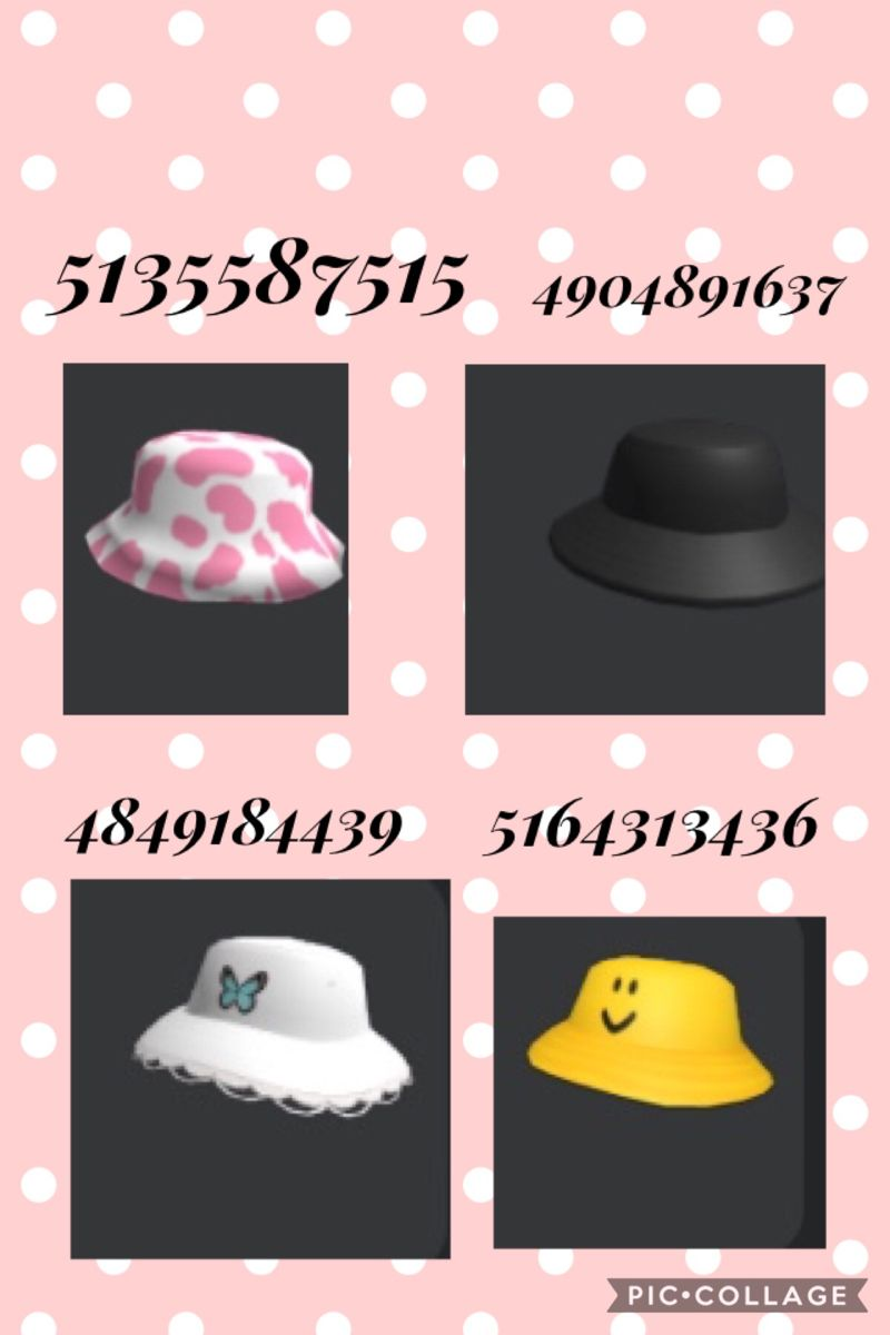 Hat Code In 2020 Coding Roblox Codes Roblox