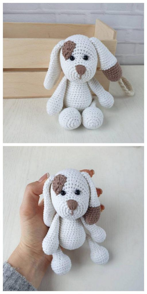 Amigurumi tedy bear and dog crochet plush free pattern - Free Amigurumi Patter ...