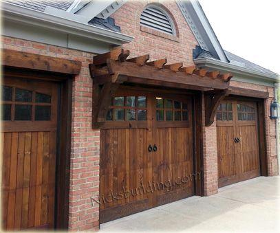 Rustic Garage Doors With Style Wood Garage Doors Wooden Garage Doors Garage Doors