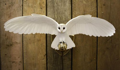 My Owl Barn: Paper and Wood Sculptures by Zack Mclaughlin