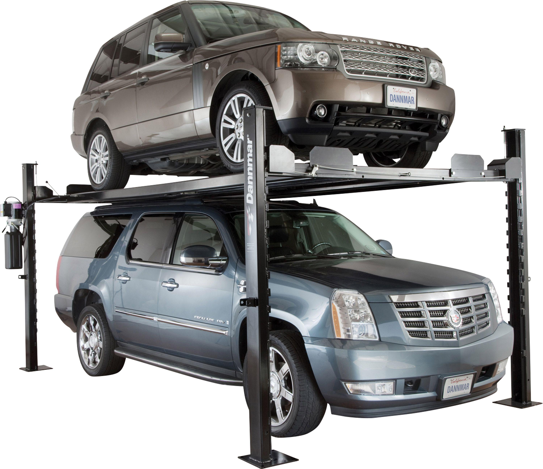 Dannmar Equipment Commander 7000x 4 Post Vehicle Lift Garaje Estacionamiento Autos