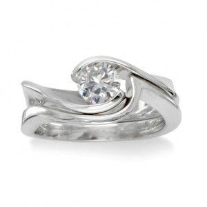 handmade engagement ring embellish the finger Pinterest