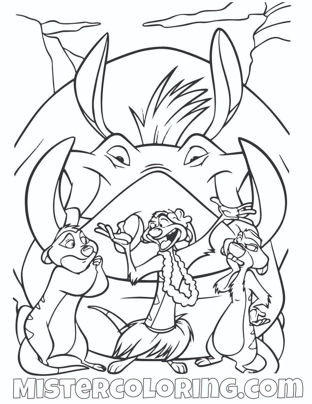 - Pin By Mister Cijo On The Lion King Coloring Pages For Kids King