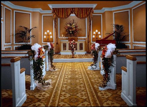 Treasure Island Wedding Chapel Interior