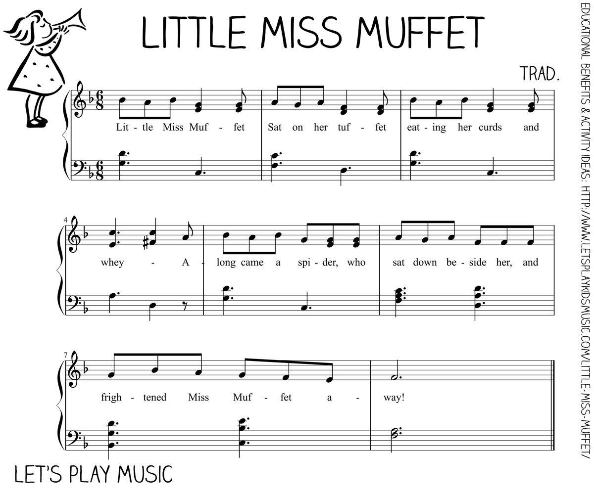 Let S Play Music Free Sheet Little Miss Et